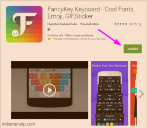 fancy key keyboard cool fonts