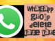 whatsapp group delete kaise kare