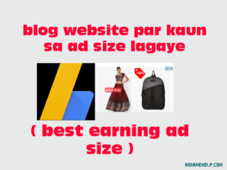 best earning ad size