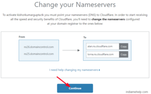 copy nameserver