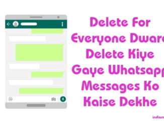 delete for everyone dwara delete whatsapp message kaise dekhe